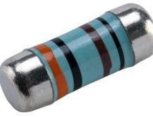 柱状电阻 金属膜精密柱状电阻 100Ω精密电阻