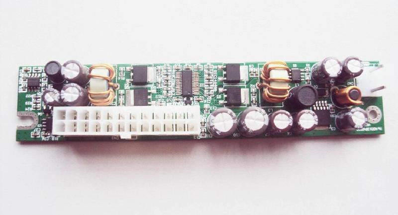 供应110W超薄无风扇DC-ATX电源模块ITX迷你机箱电源