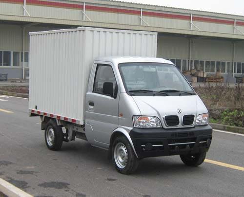 供应东风小康单排厢式货车图片