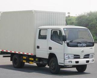供应东风小霸王双排厢式货车图片