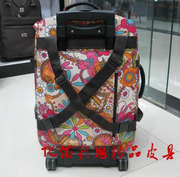 旅行包图片 旅行包样板图 亿佰利思可爱太阳花拉杆包旅行...