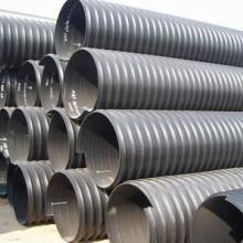 供应莱芜PE钢带增强波纹管,莱芜PE钢带增强螺旋波纹管