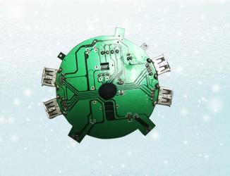 供应语音电子机芯PCBA加工插件贴片