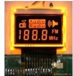 供应深圳收音机用LCD液晶屏