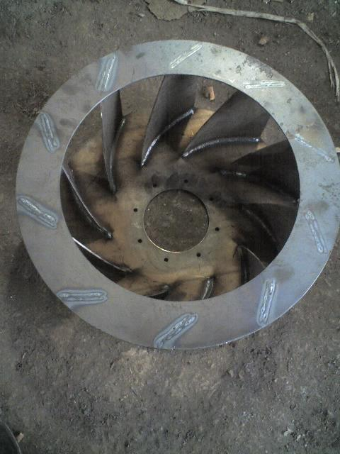 供应生产4 72离心风机叶轮排尘风机风叶多翼风机叶轮定做