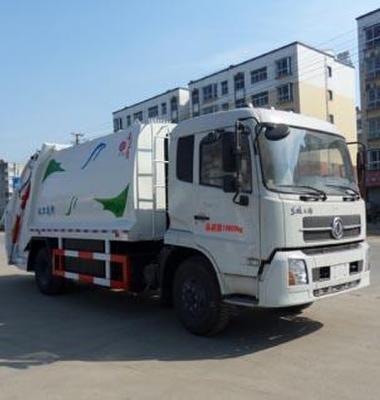 8吨压缩式垃圾车图片/8吨压缩式垃圾车样板图 (1)