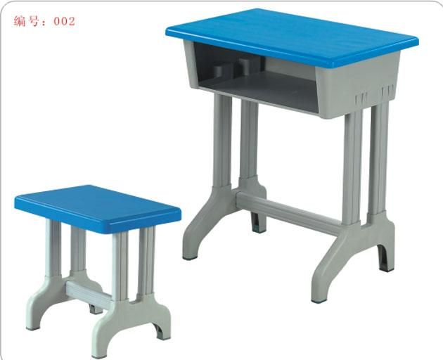 单人课桌图片 单人课桌样板图 中小学单人课桌凳