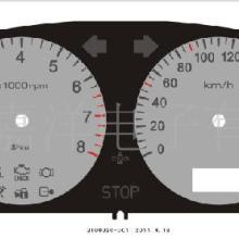汽车仪表盘面板(摩托车仪表面板、电动车仪表面板、薄膜面板)