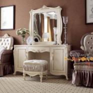 精艺丽家白色新古典家具别墅酒店图片