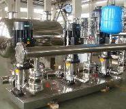 生活气压给水设备价格不锈钢变频图片