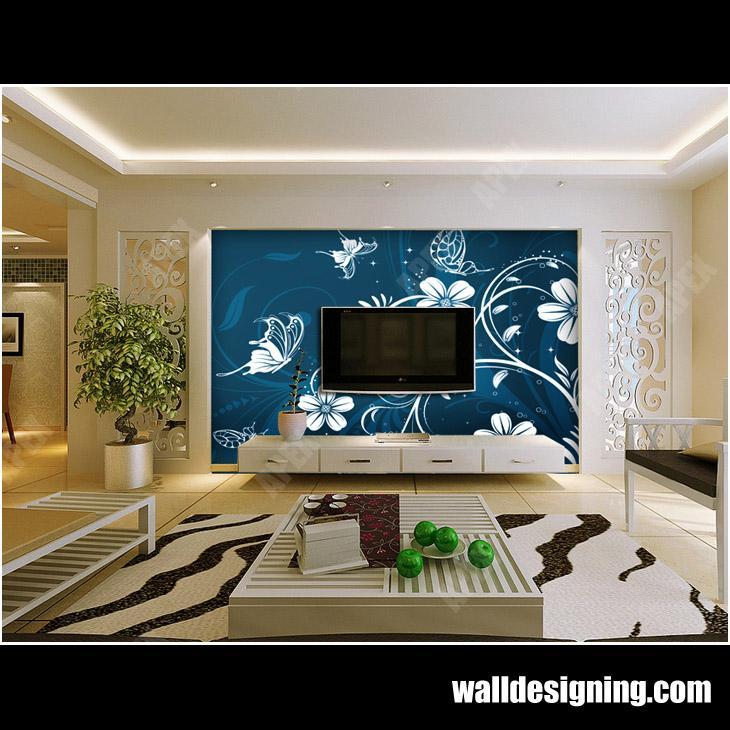 电视背景墙纸/客厅背景墙纸提供图片