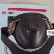 3M6200半面式7件装防毒面罩图片