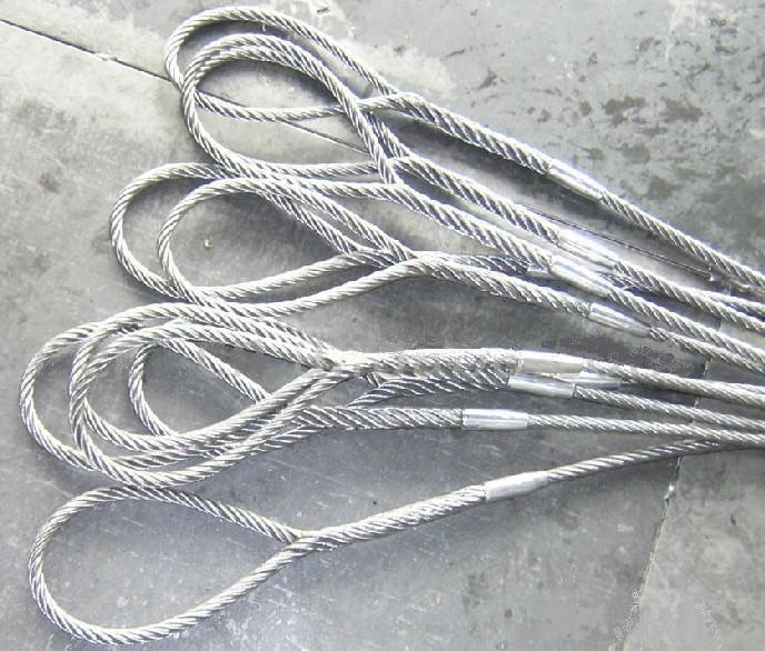 供应力诺加工销售起重用压制插编钢丝绳