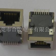 供应贴片式带滤波器RJ45网络插座 RJ45母座SMT带变压器