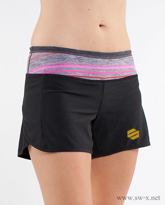 女士短裤图片|女士短裤样板图|舜王瑜伽女士短裤
