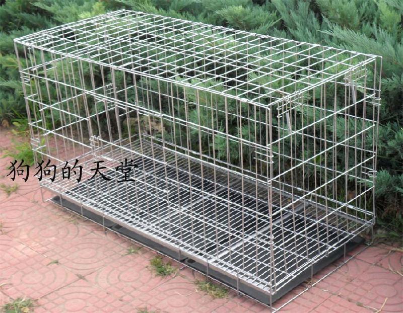 不锈钢狗笼设计图