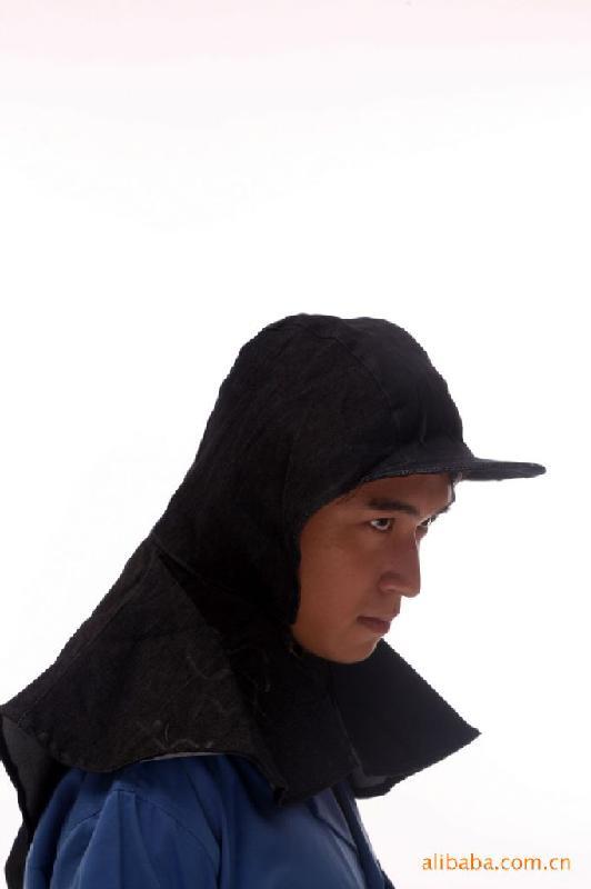 供应劳保防尘帽防尘披肩
