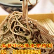 日本特色鸡丝荞麦面技术培训图片