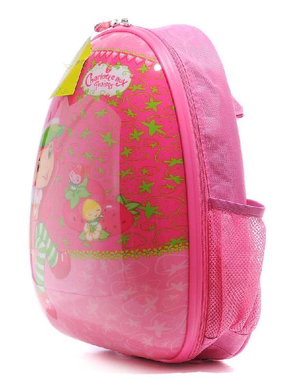 迪士尼15寸儿童双肩背包草莓女孩图片
