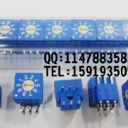 ERD环码数字开关0-9脚位33侧调图片
