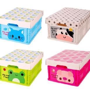 折叠箱卡通折叠储物箱折叠收纳箱图片