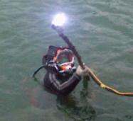 水下摄像取证设备维护堵漏地貌调查