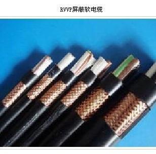 RVVP铜丝屏蔽软电缆屏蔽信号线525图片