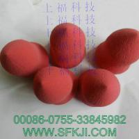 供应东莞磨形棉化妆棉葫芦绵工厂