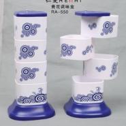 方形青花调味盒图片