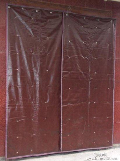 供应北方透明棉门帘