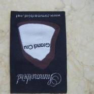 供应用于服装标签的细纱织唛加工