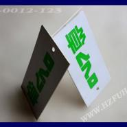 铜牌纸吊牌印刷  杭州赋涵吊牌厂供应