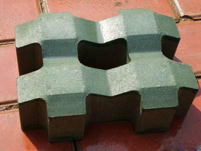供应延安绿化用草坪砖渗水砖