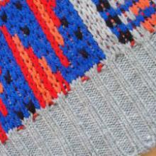 桐庐针织工厂供应多图提花围巾保暖情侣围巾披肩加工批发