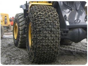 铲车1600-25型轮胎保护链图片