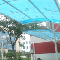 供应湖南不锈钢雨棚、阳光板雨棚、钢结构雨棚、汽车停车雨棚