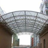 供应永州车棚连廊过道 供应大型建筑连廊, 走道,湖南最优质钢结构厂家