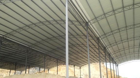 供应衡东轻钢结构厂房、彩钢棚、钢筋棚