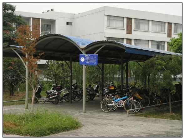 供应湖南省自行车车棚