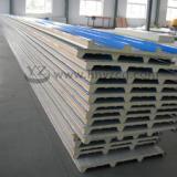 供应临湘活动房材料、岩板板、泡沫夹芯板、瓦楞板、围档板、PU瓦图片