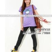 时尚新款韩版女式夏季T恤批发图片