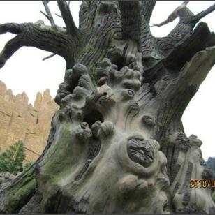 假树的效果图片