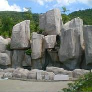 潍坊小区假山塑石潍坊假山塑石造景图片