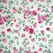 印花涤棉坯布图片