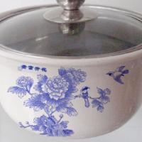 供应广东佛山专业生产防烫套锅-青花瓷