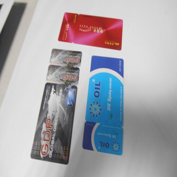 供应字母卡制作-喷条码 异形卡厂家