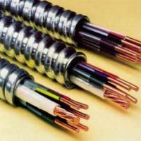 供应MC电缆2C12awg1C14awg金属铠装UL1569 MC连锁铠装电缆皱纹铝铠装AC9