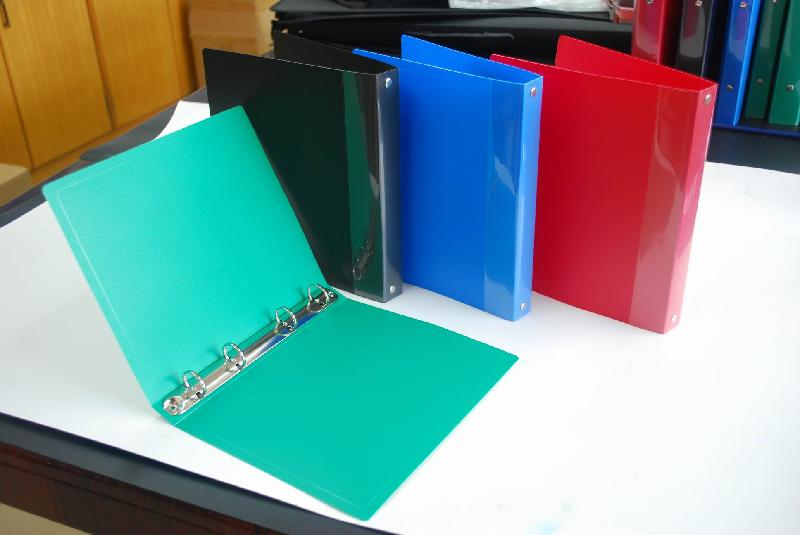 专业定做PP3孔文件夹2孔夹4孔文件夹