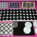 供应用于防震包装的3M双面胶硅胶垫.特性耐磨.阻燃