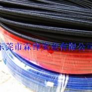 编织各种颜色棉线铁氟龙管图片